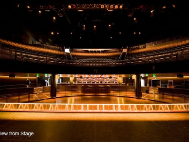 club nokia view from stage